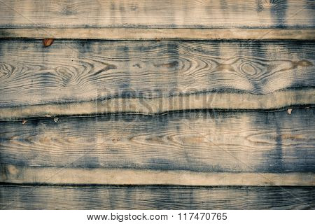 natural old wooden plank background closeup