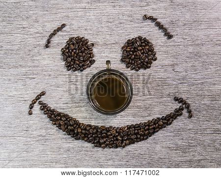 Smiling Coffee Beans