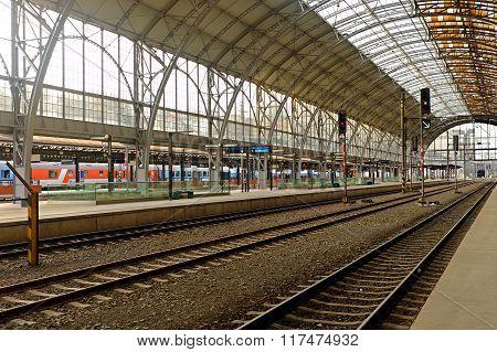 Prague's Central Station