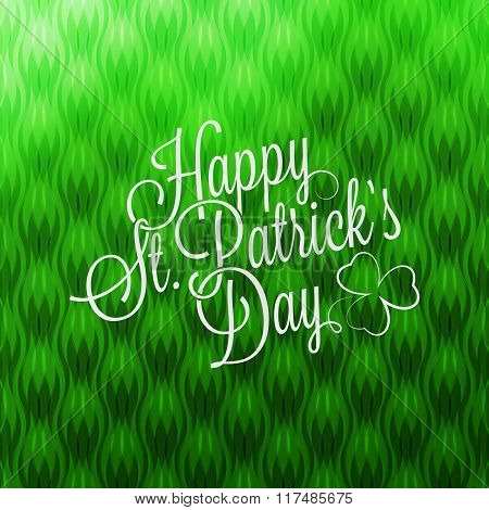Saint Patrick's Day Lettering