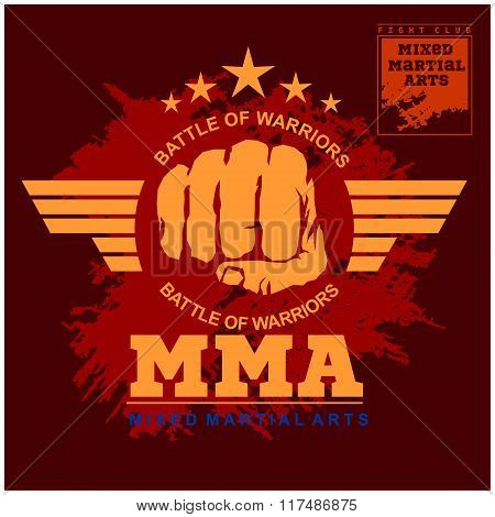 Fight club MMA Mixed martial arts