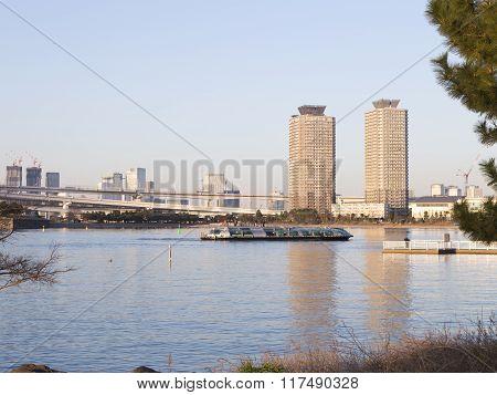Tokyo Bay And Beautiful Reflection