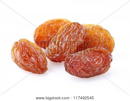 Raisins in closeup