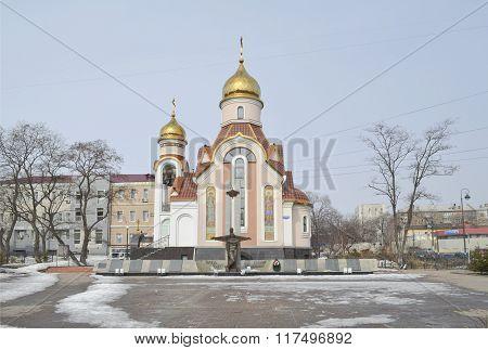 Vladivostok, The Church Of Igor Of Chernigov