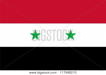 Standard Proportions For Syria Flag