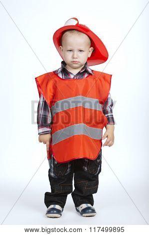 little serious firefighter