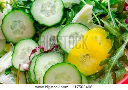 Salad With Cucmber