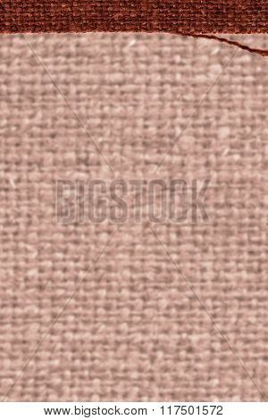 Textile Surface, Fabric String, Buckwheat Canvas, Cloth Material, Detail Background