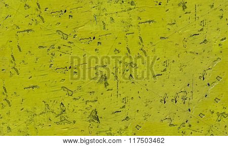 Seamless texture with yellow paint chipped