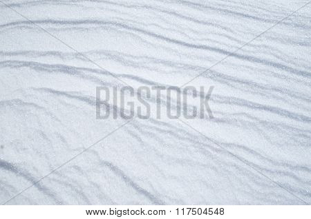 Wreath Of Snow Bright Surface