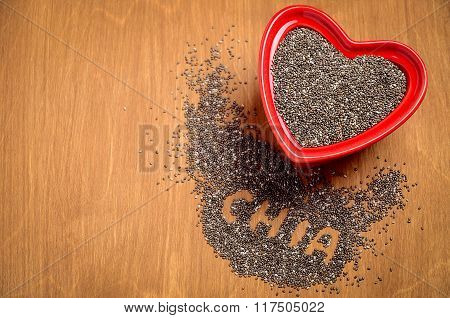 Chia seeds.