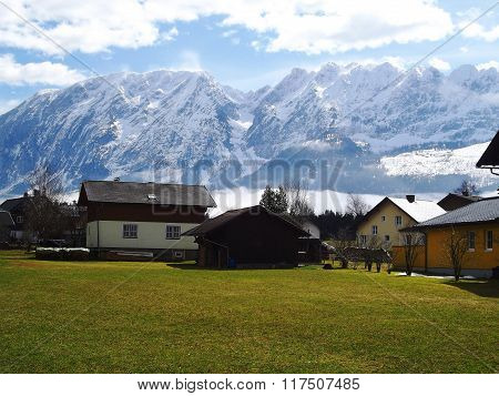 Mountain Grimming in the Austrian Alps