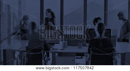 Collaboration Planning Sharing Support Business Concept