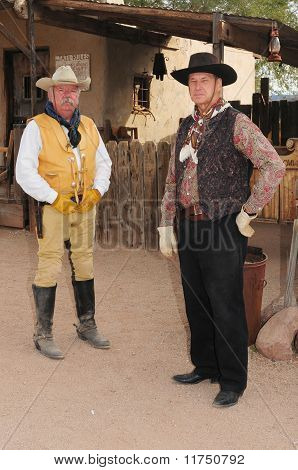 Old American West Gunfighters
