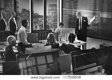 Business Corporate Communication Enterprise Concept