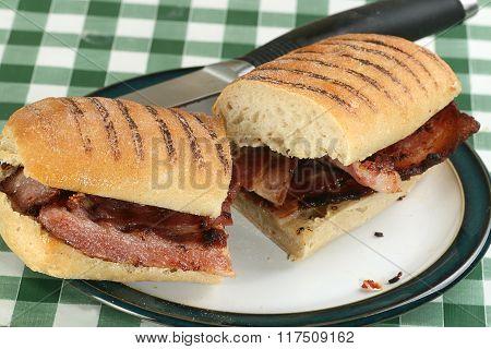 Panini With Bacon