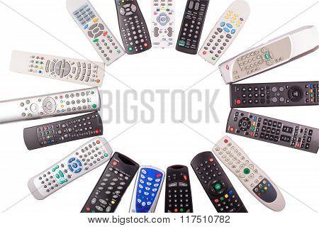 Tv Remote Control Keypad Black