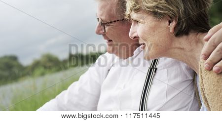 Bonding Couple Leisure Love Romance Relaxation Concept
