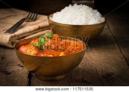 Butter Chicken Bowl