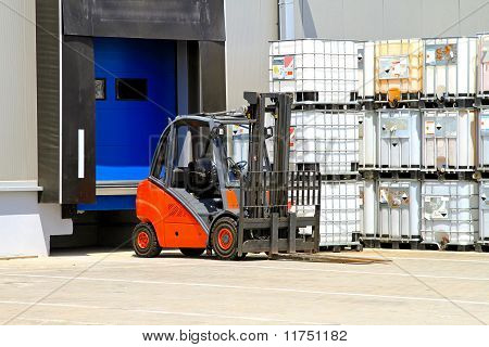 Forklift Vehicle