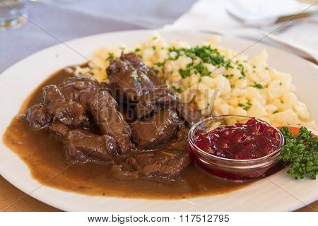 Goulash Of Deer
