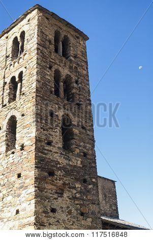 Romanesque Church In Andorra