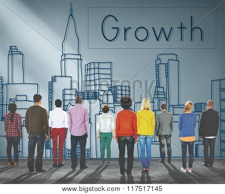 Growth Process Strategy Success Vision Increase Concept