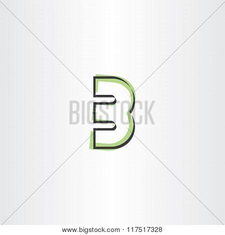 Number 3 Three Third Vector Logo Icon