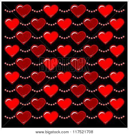 Heart Chain Pattern