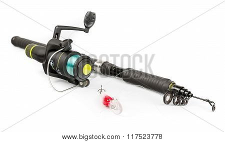 Fishing rod and bait