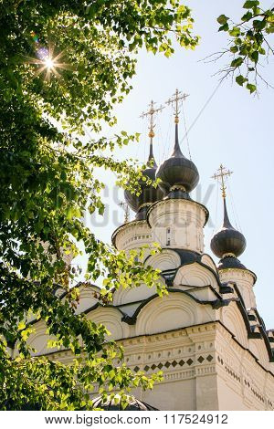 Domes Of St. Antipas Church