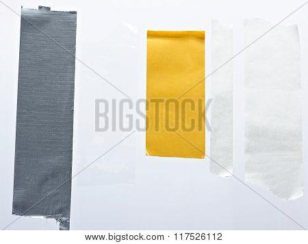 Sticky Tape Pieces