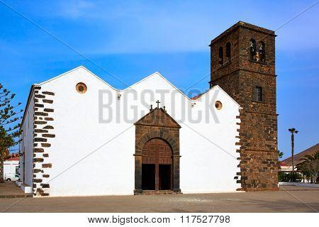 La Oliva church Fuerteventura at Canary Islands of Spain