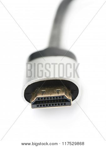 HDMI type A male plug isolated