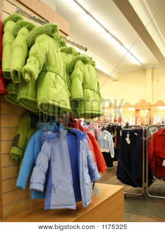 Child Jaket In Shop