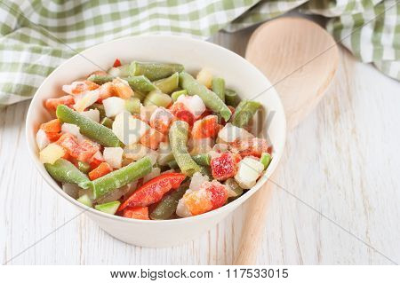 Mixture Frozen Vegetables