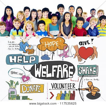 Welfare Support Benefit Payment Retirement Concept