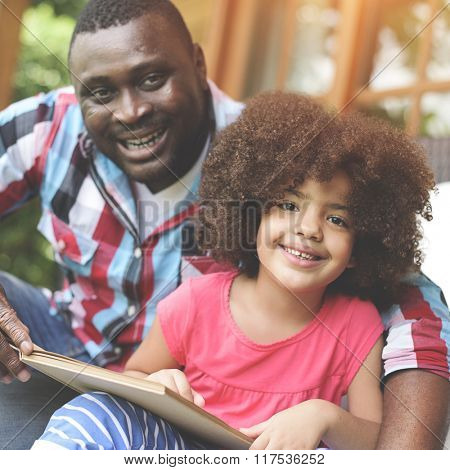 Daughter Father Family Parenting Relationship Kids Concept