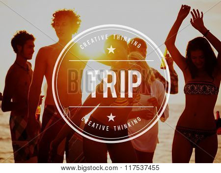 Trip Vacation Holiday Adventure Travel Exploration Concept