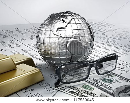 Global Finance Concept