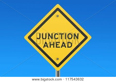 Junction Ahead Road Sign