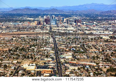 Central Avenue Phoenix, Arizona