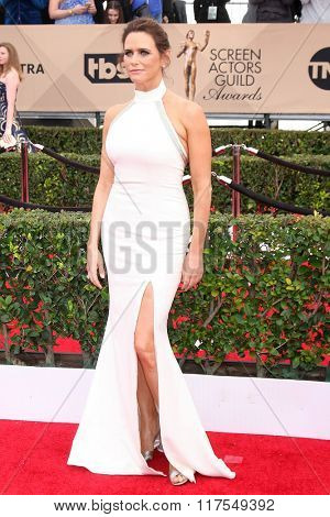 LOS ANGELES - JAN 30:  Amy Landecker at the 22nd Screen Actors Guild Awards at the Shrine Auditorium on January 30, 2016 in Los Angeles, CA