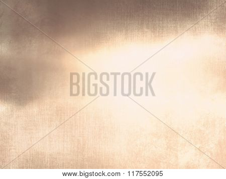 Grunge sky background brown beige with dramatic shiny light