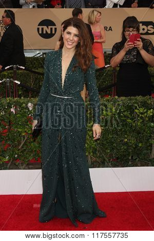 LOS ANGELES - JAN 30:  Marisa Tomei at the 22nd Screen Actors Guild Awards at the Shrine Auditorium on January 30, 2016 in Los Angeles, CA