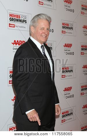 LOS ANGELES - FEB 8:  Bruce Boxleitner at the 15th Annual Movies For Grownups Awards at the Beverly Wilshire Hotel on February 8, 2016 in Beverly Hills, CA