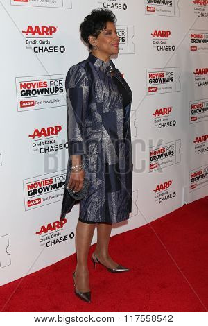 LOS ANGELES - FEB 8:  Phylicia Rashad at the 15th Annual Movies For Grownups Awards at the Beverly Wilshire Hotel on February 8, 2016 in Beverly Hills, CA
