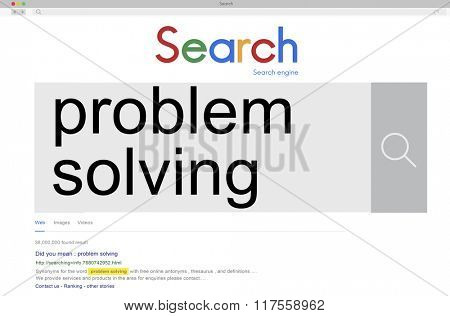 Problem Solving Method Plan Skills Processing Ideas Concept