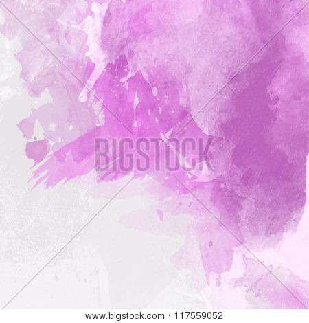 Detailed watercolor paint background