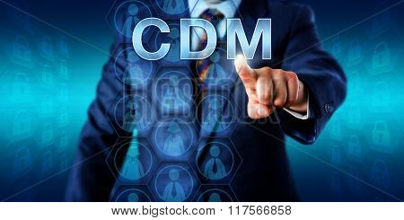 Corporate Manager Pressing Cdm Onscreen